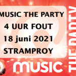 QMUSIC THE PARTY – 4 UUR FOUT  verzet naar 2021