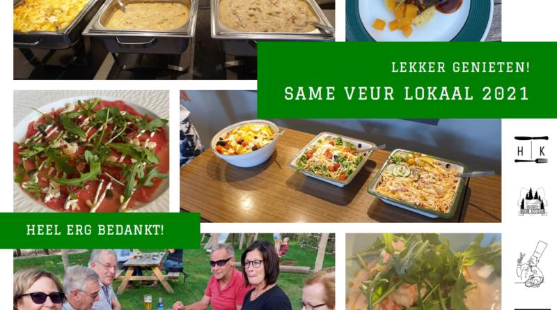 Deelnemers genieten volop tijdens Same Veur Lokaal!